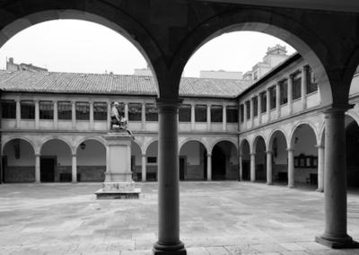 Mayo del 68. Acto en la Universidad de Oviedo